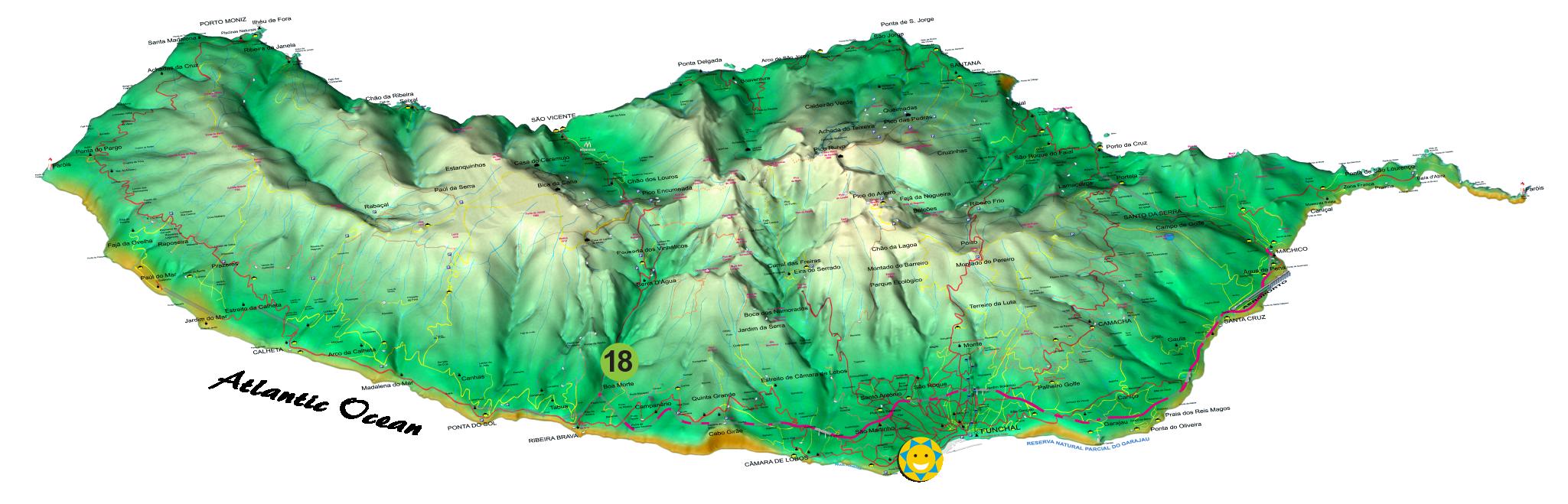 18 – Levada wanderungen Vale Serra D'Água 1